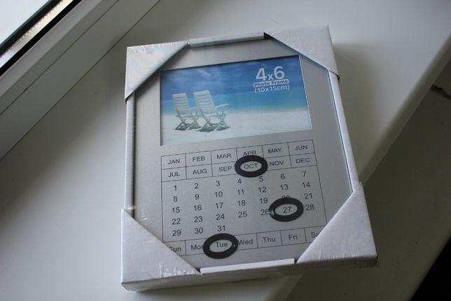 Фоторамка с календарем
