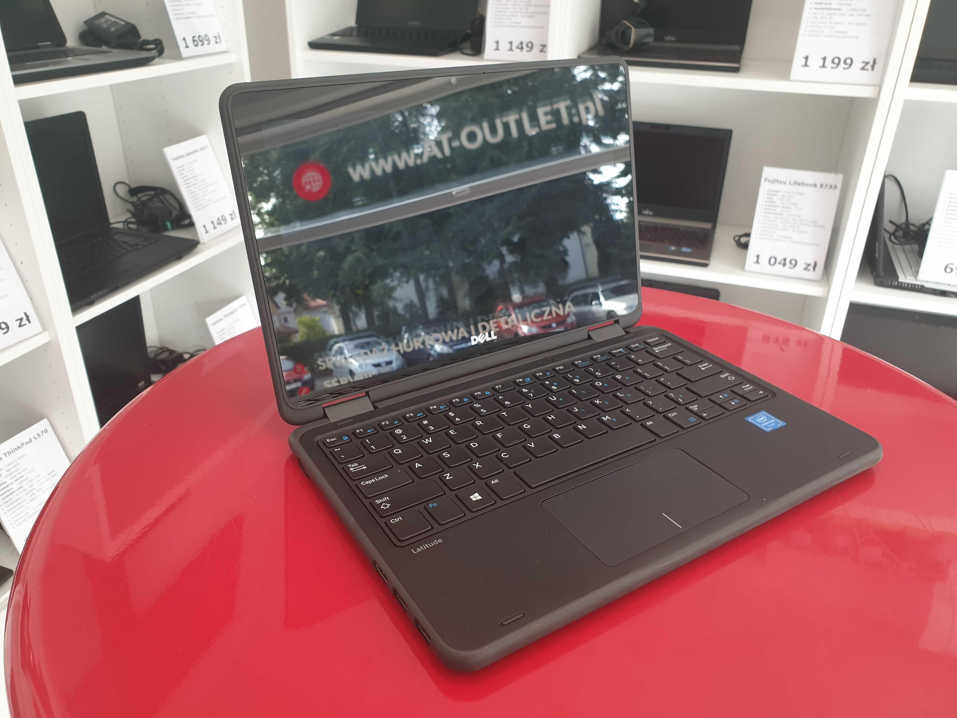 Laptop+Tablet Dell Latitude 3189 Dysk SSD Dotykowy Ekran Kamera FV GW