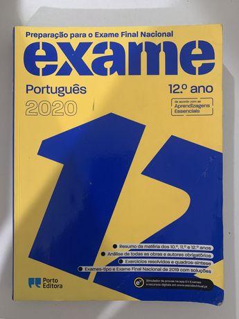 Preparação para o exame de portugues 12 ano NUNCA USADO