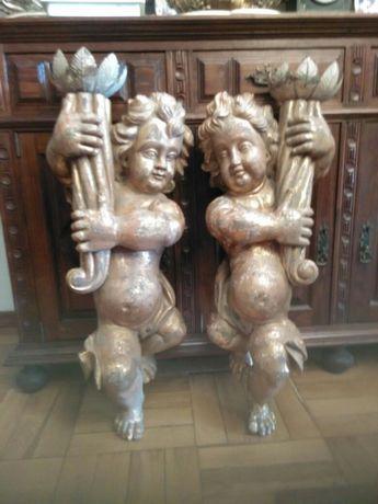 Arte sacra Serafins Candelarios(candeeiros)
