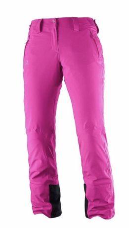Spodnie narciarskie Salomon Iceglory damskie rozmiar S,M
