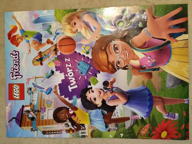 Plakat duże nowe plakaty LEGO Friends City Star Wars Jurassic Word