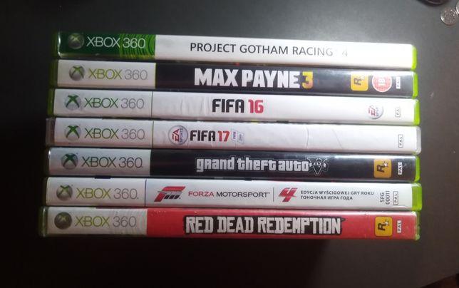 Puste pudełka Xbox 7 szt.