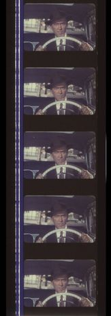 Fotogramas em película 35mm do filme culto VERTIGO