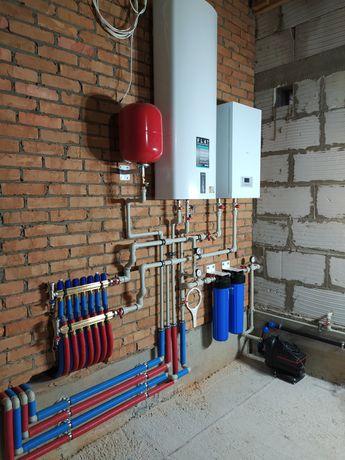 Монтаж отопления, водоснабжения, канализации. Житомир