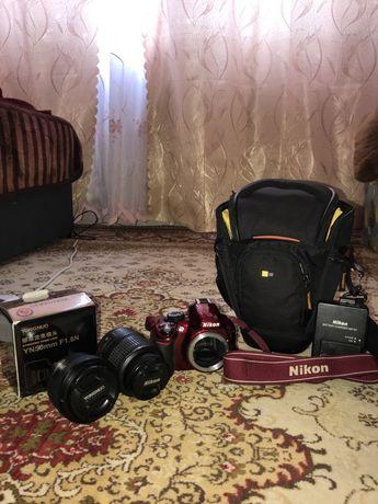 Nikon d 3100 +2 обьектива на Iphone