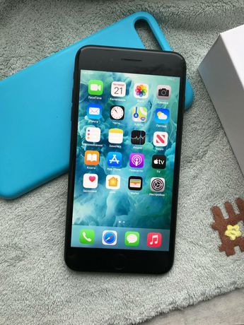 iPhone 7 Plus 128Gb Black Matte Neverlock, Оригинал