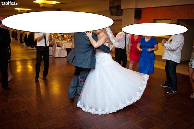suknia ślubna princesska rozm 40 okazja
