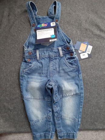 Nowe spodnie dla chłopca z metkami