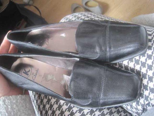 r. 38 buty damskie CLARKS  półbuty