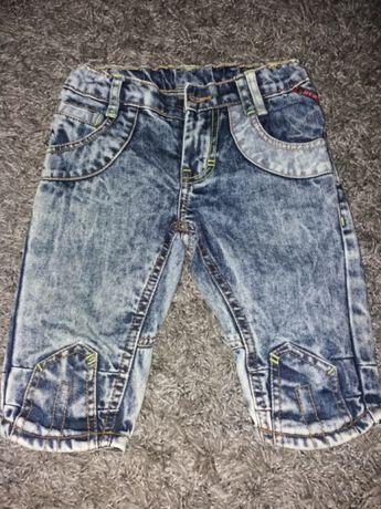 Spodenki jeansowe 122 - 128