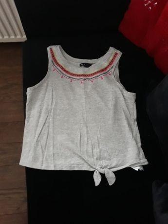 Fajna krótka  koszulka dla dziewczynki gapkids 10lat