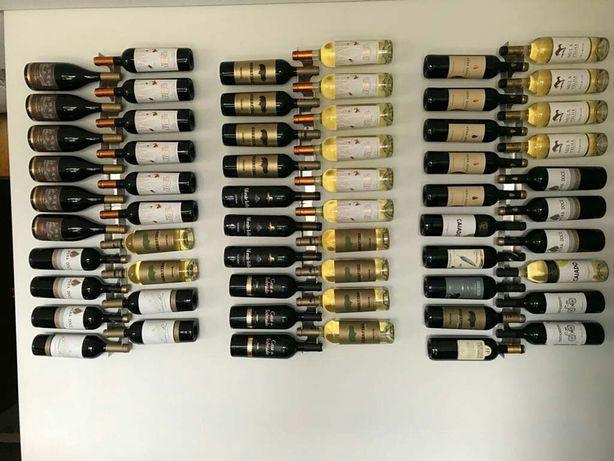 Toda a gente sabe que o vinho deve de estar em contacto com a rolha...