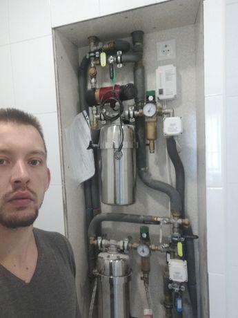Сантехнические работы, отопление, водопровод, канализация