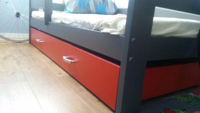 Łóżko parterowe dla dzieci HUGO 160x80 + szuflada