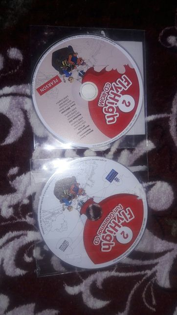 2 Диски FlyHigh 2 + Activity book 2