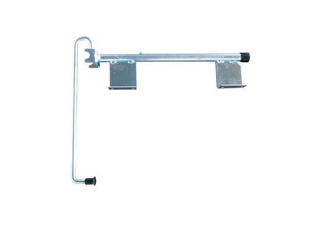 Fecho porta aberta contentor c/braço zincado-Ref.732100