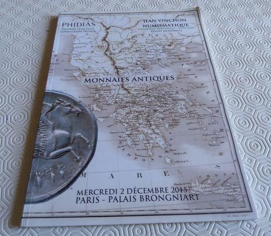 2821#Livro/catálogo Leilão Moedas Romanas ( em francês) Paris 2015