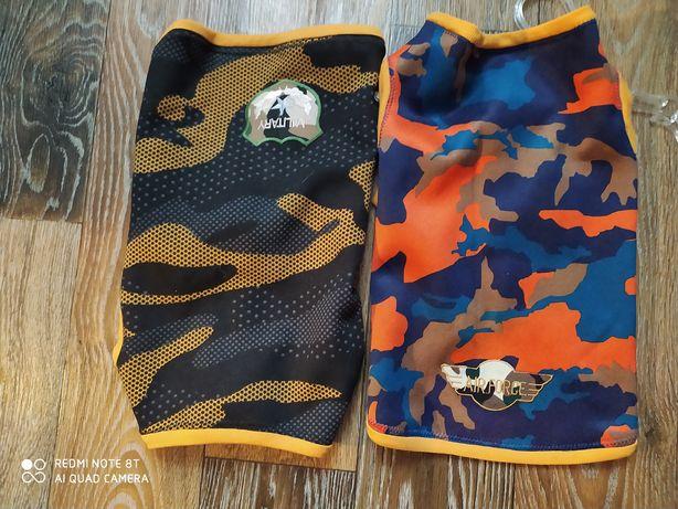 Комбинезон свитер безрукавка на флисе для собаки маленьких пород