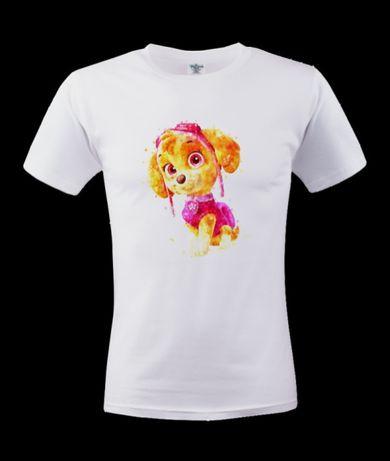Koszulka bluzka t-shirt dziecięca Psi patrol Skye Marshall chase
