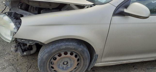 BŁOTNIK Lewy Przedni Przód VW JETTA 05r-10r LD1W