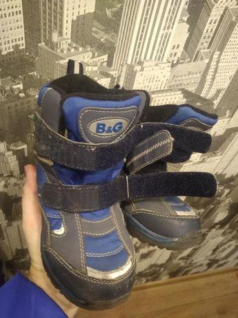 Зимние ботинки B&G на мальчика р. 28