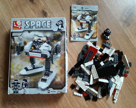 Klocki 108 elementów pasują do LEGO