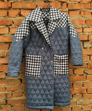 Пальто синього кольору