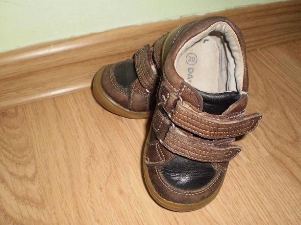 Шкіряні туфельки 20 р. для хлопчика