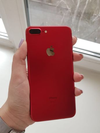 iPhone red 7+, 256Gb
