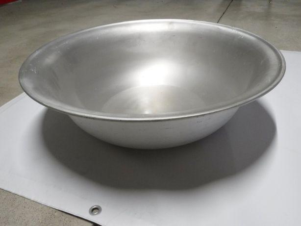 Miska Miednica aluminiowa 61cm Olkusz Wojskowa PRL