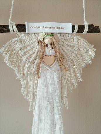 Anioł pamiątka I Komunii Świętej