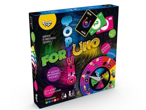 Настольная Игра Фортуно Fortuno Uno Уно Форт уно