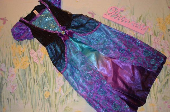 Новогоднее карнавальное платье 7-8 лет