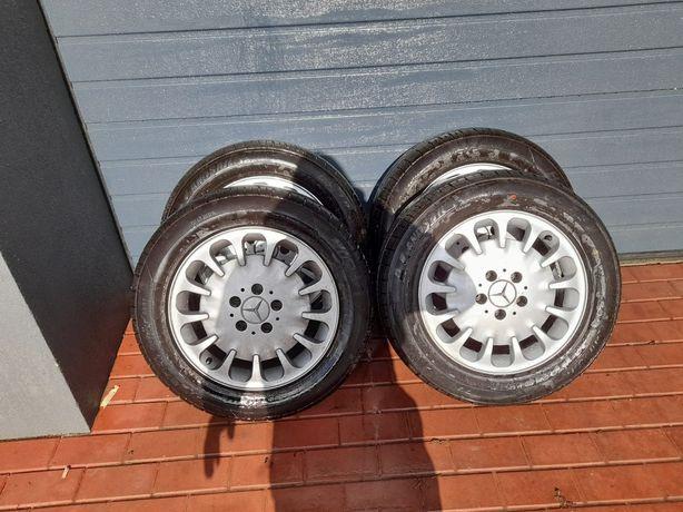 """Alufelgi 16"""" 5×112 Mercedes E klasa W211 Nowe opony!!"""