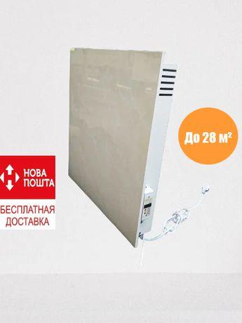 Обогреватель, керамическая панель 1,1 кВт до 28 м²+терморегулятор