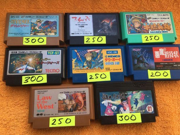Nintendo Famicom   Dendy   денди   денді   8bit картриджы   касеты 999
