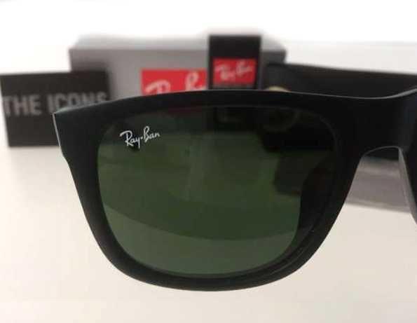 Ray ban oculos sol 4165 justin e  wayfarer 2140 preto matte rayban