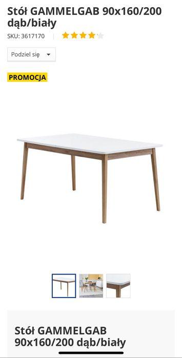 Stół rozkładany JYSK Gammelgab - Jak nowy ! Pruszcz Gdański - image 1