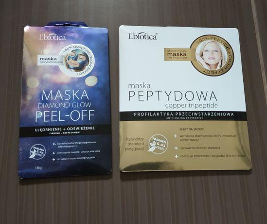 Maska Lbiotica maseczka 2 sztuki, możliwość wysyłki