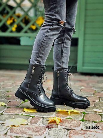 Зимние ботинки Balenciaga. На меху, кроссовки. Кросовки