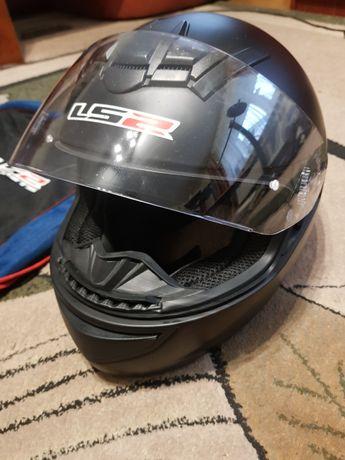 Kask motocyklowy LS2, jak nowy