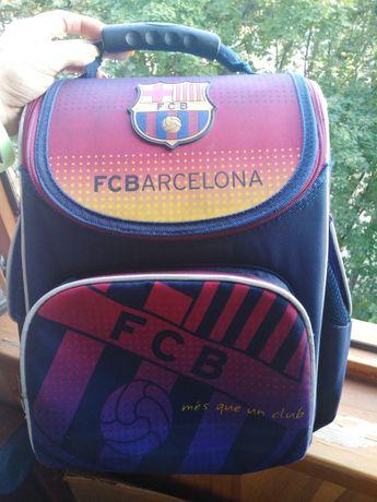Рюкзак школьный каркасный  KITE  FC BARCELONA