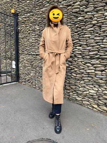 Пальто из ткани Max Mara кашемир 60% и шерсть 40%