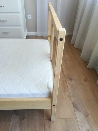Łóżko 90x200 jak nowe + MATERAC w cenie! NIE STRAĆ OKAZJI!