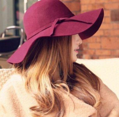 Шляпа женская фетровая с широкими полями, шляпка, новая!