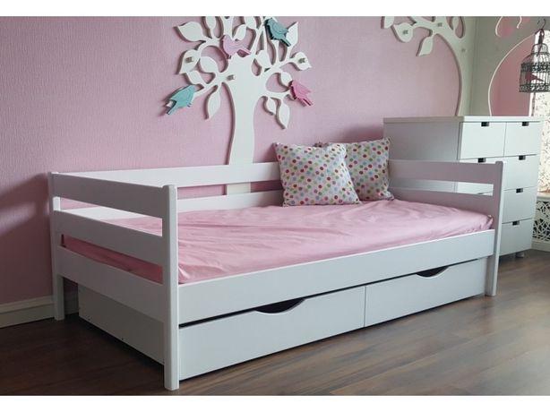 Дитяче букове ліжко! Деревяная детская подростковая кровать
