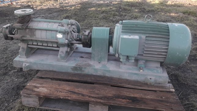 Pompa do deszczowni wody ciśnieniowa elektryczna silnik 37kW