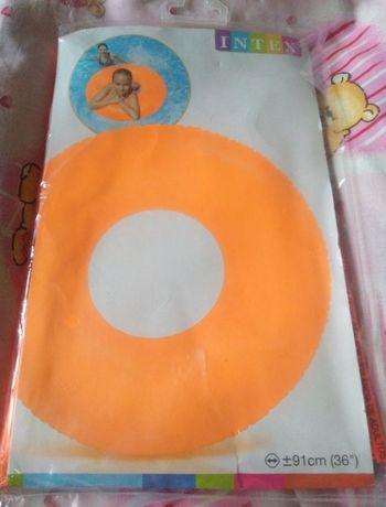 Надувной круг детский и большой