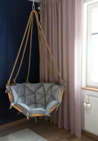 Fotel wiszący, kokon, kosz, fotel loftowy, huśtawka ogrodowa, hamak